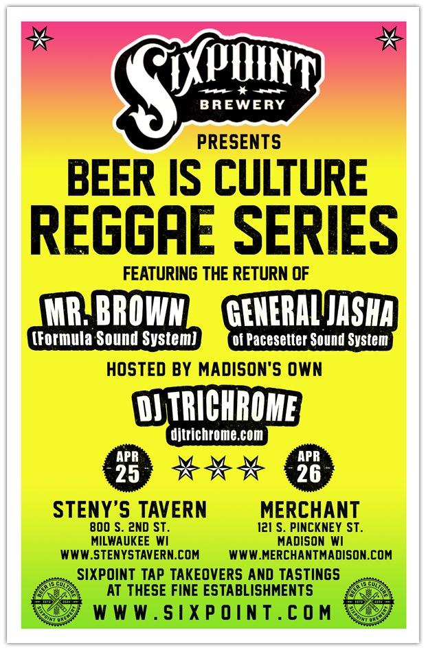 dj trichrome sixpoint brewery tour